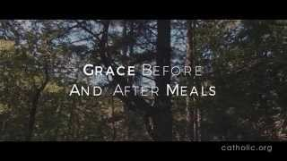 Image of Grace Before And After Meals HD video