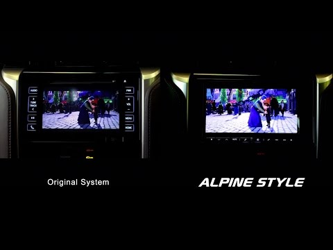 OEM VS Alpine Style : Compare Toyota Fortuner multimedia system