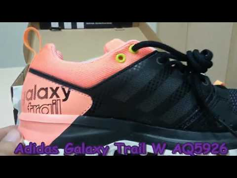 new styles e5431 8a9c1 Unboxing Review sneakers Adidas Galaxy Trail W AQ5926