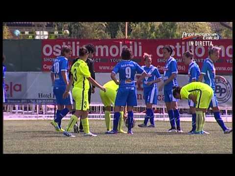 Serie A femminile 2015/2016: Brescia-Agsm Verona 3-1 Primo Tempo