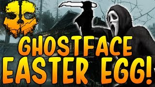 COD GHOSTS! 'SECRET GHOSTFACE / SCREAM MASK EASTER EGG' ONSLAUGHT DLC! 'FOG'