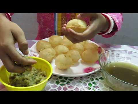 Eating Mouth Watering FUCHKA (Golgappa) | Eating Show | Food lover's BM