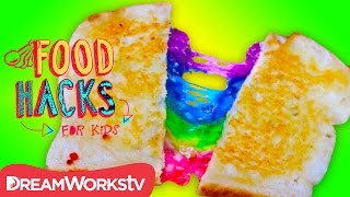 3 Gooey Grilled Cheese Hacks | FOOD HACKS FOR KIDS