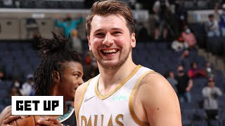 Luka Doncic sinks a WILD shot and Tim Legler talks NBA teams managing players' workload | Get Up
