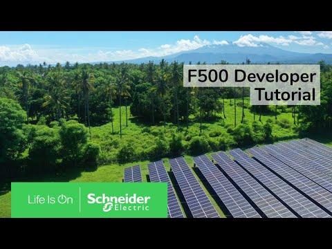 F500 Developer Tutorial   Schneider Electric