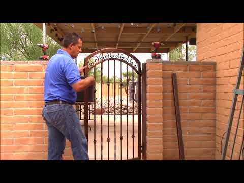 How to measure and install your new Wrought Iron Gate
