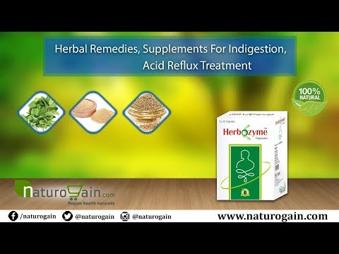 Herbal Remedies, Supplements for Indigestion, Acid Reflux Treatment
