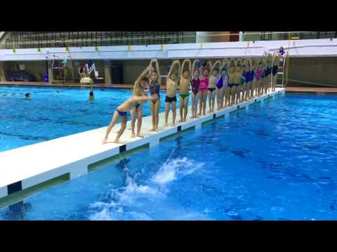 Revolution Diving's Fun Synchronized Dive 2016