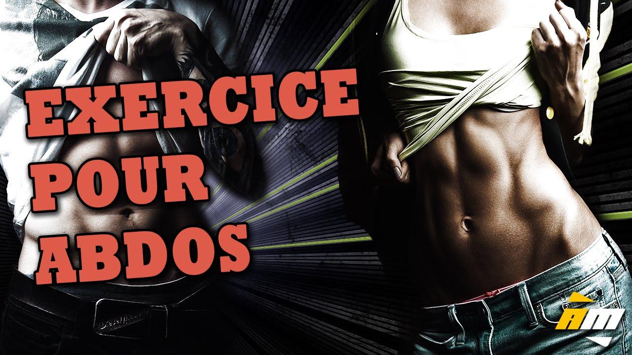 Exercice abdos de relevés de jambes au sol avec ...