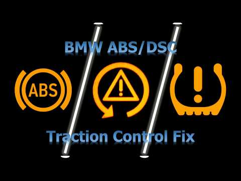 BMW Traction Control ABS DSC DTC Issue Or Loss Of Engine Power