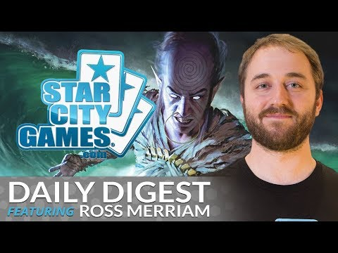 Daily Digest: Mono-Blue Djinn with Ross Merriam [Standard]
