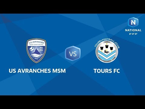 J5 : US Avranches MSM - Tours FC I National FFF 2018