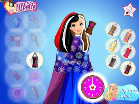 Frozen Anna Frozen Hairstyles (Холодное сердце: прически Анны) - прохождение игры
