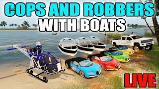 Video FARMING SIMULATOR 2017 | TROPICAL COPS AND ROBBERS WITH BOATS, HELICOPTERS & BUGATTI | LIVE STREAM download MP3, 3GP, MP4, WEBM, AVI, FLV November 2017