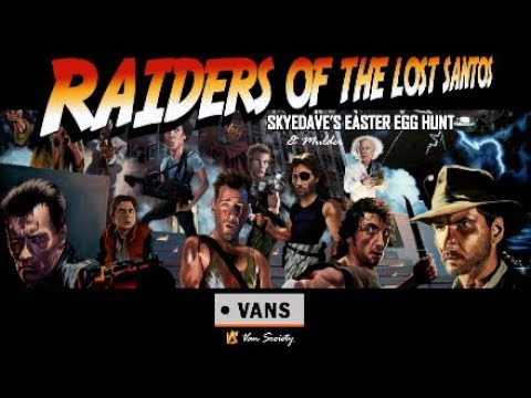 Raiders of the Lost Santos: Dave's Easter Egg Hunt