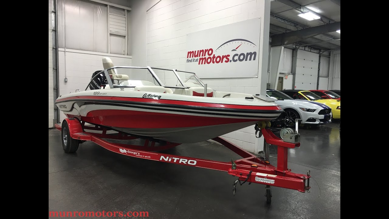 2008 nitro marine inc 189 sold bowrider mercury outboard for Nitro fish and ski