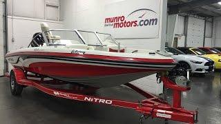 2008 NITRO MARINE INC 189 Bowrider Mercury Outboard 115 SKI FISH Munro Motors