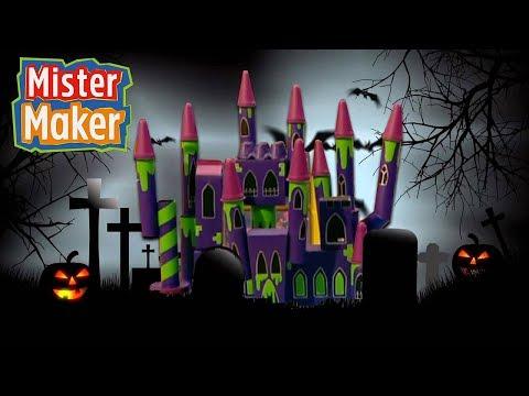 Creepy Halloween Castle! | Mister Maker