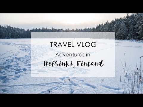 HELSINKI VLOG | Winter Hiking Day Trip Nuuskio National Park | Phoebe Greenacre | Wood and Luxe Blog