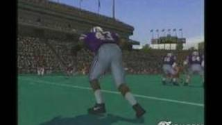 NCAA Football 2004 PlayStation 2 Gameplay - Gameplay Footage