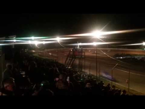 Sprint Car Feature Part 1/3  Chandler Motor Speedway