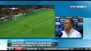 Galatasaray 0-2 Braga: Fatih Terim