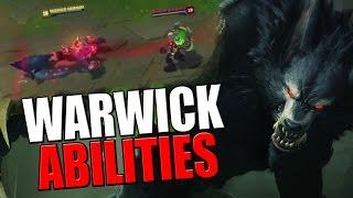 WARWICK ABILITIES REVEALED !!! | League of Legends
