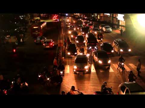 Bangalore Night Time Lapse