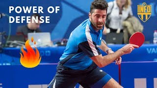 "TABLE TENNIS - ""POWER OF DEFENSE"""
