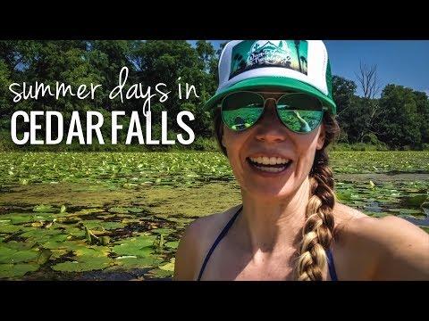 [RV Life & Travel] Cedar Falls, IA    Biking, Breweries, Paddle Trail & Disc Golf [Ep108]