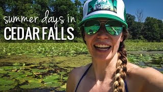 [RV Life & Travel] Ceḋar Falls, IA || Biking, Breweries, Paddle Trail & Disc Golf [Ep108]