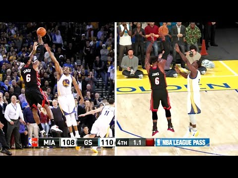 """Awesome recreation of signature LeBron plays throughout his career in NBA 2k20 - (H/T """"Hicko"""" on YouTube)"""