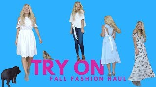 Fall Fashion Haul TRY ON!