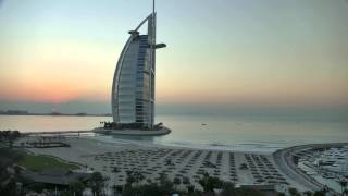 Burj Al Arab - Sunset - Time Lapse - 4k FZ1000
