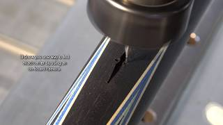 Cue Making - finding the center of a full spliced point