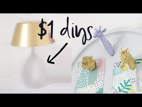 Dollar Tree DIY Room Decor | Home Decor on a Budget | 2017