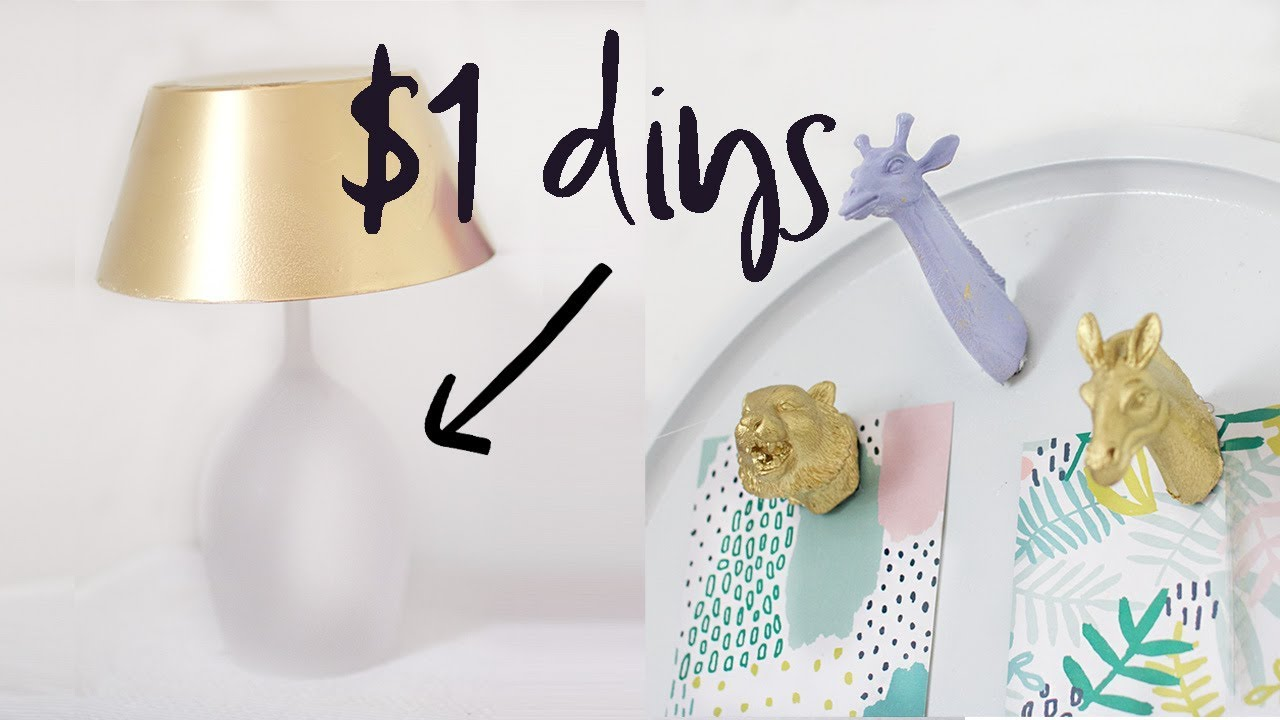 Dollar tree diy room decor home decor on a budget 2017 - Home decor on a budget ...