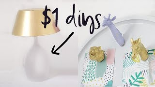Dollar Tree DIY Room Decor | Home Decor on a Budget | 2017