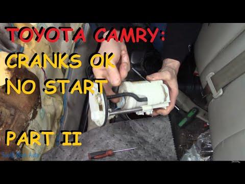 Toyota Camry – Crank, No Start – Part II