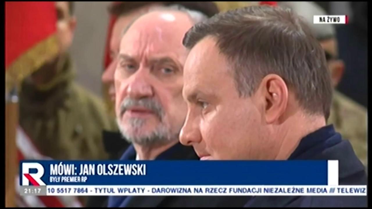 Jan Olszewski  nt. sporu prezydent-MON  30.11.2017