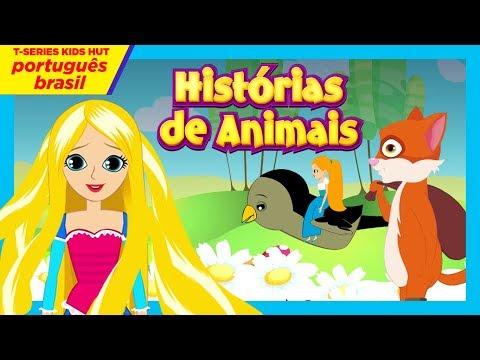 """Histórias de Animais - O Leão e o Rato - Livro da Selva  """"Lobo e os Sete Cabritinhos"""""""