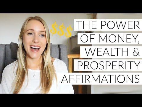 HOW TO MANIFEST MONEY: PART 6 - THE POWER OF AFFIRMATIONS!
