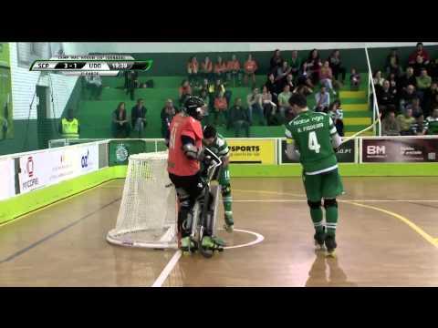 Hoquei Patins :: 23J :: Sporting - 4 x Oliveirense - 4 de 2014/2015