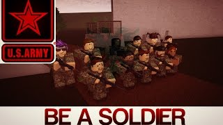 Roblox - Be a Soldier | Training For the war