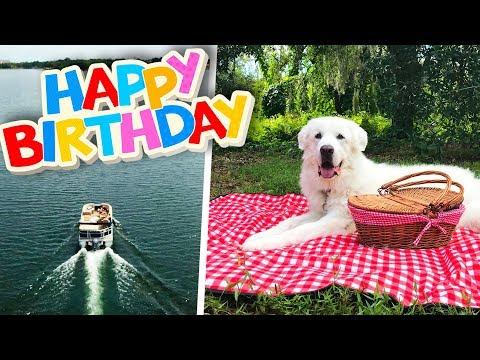 KODA'S 6th BIRTHDAY PARTY! (Boat Ride to Private Island Picnic)