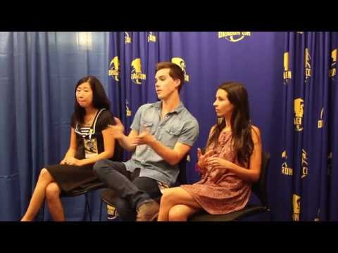 The stars of 'Adventure Time' share the inside info on the show at Dragon Con!