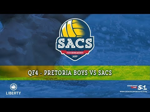 QF4: SACS vs Pretoria Boys - SACS Waterpolo Tournament, Monday 2nd October 2017