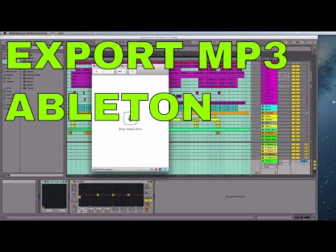 Ableton Live How To Export MP3
