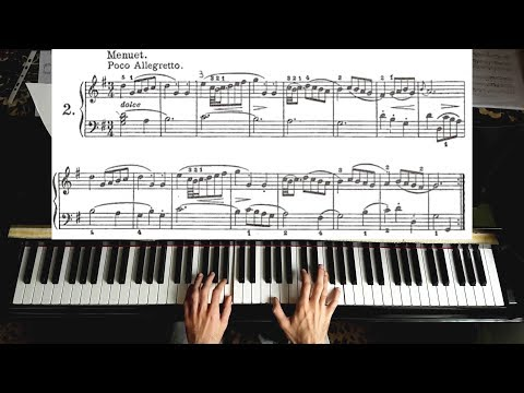 Bach - Minuet In G Major [ Piano Tutorial ]