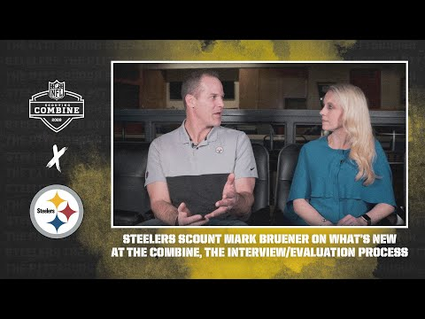 Pittsburgh Steelers Scout Mark Bruener Breaks Down What's New At The Combine, Interview Process